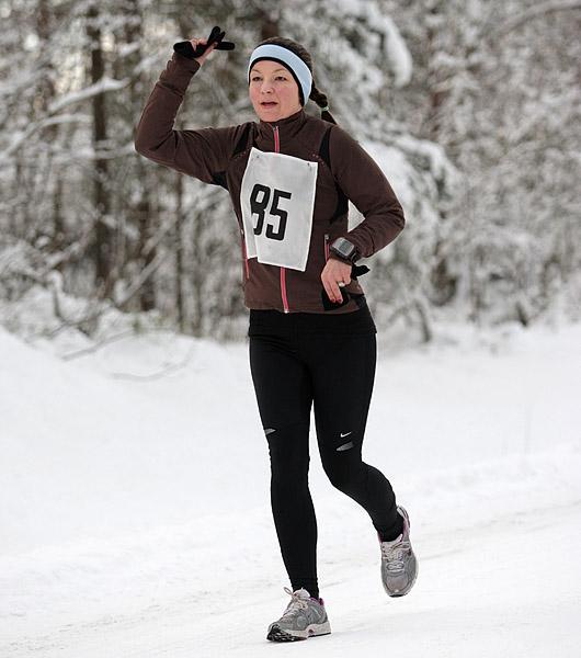 Angelique+Helseth+var+en+av+sju+jenter+som+deltok%2C+og+hun+fikk+nest+beste+tid+p%E5+halvmaraton.+