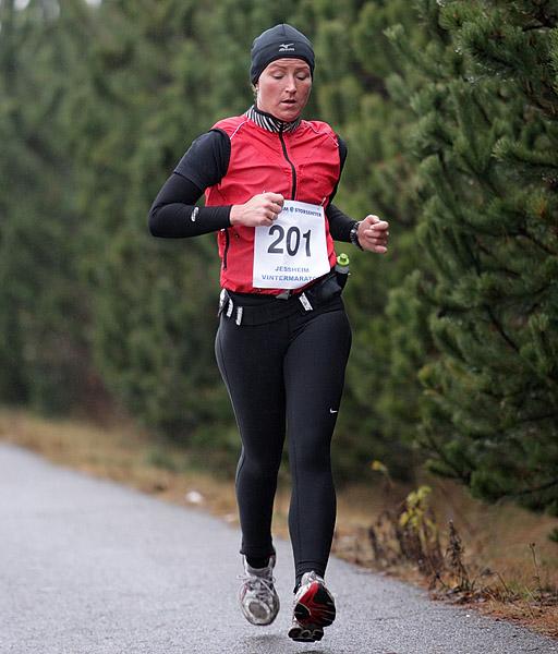 Cecilie+Karlsen+fra+L%F8renskog+var+tredje+raskeste+kvinne+p%E5+helmaraton+%28foto%3A+Kell+Vigestad%29.